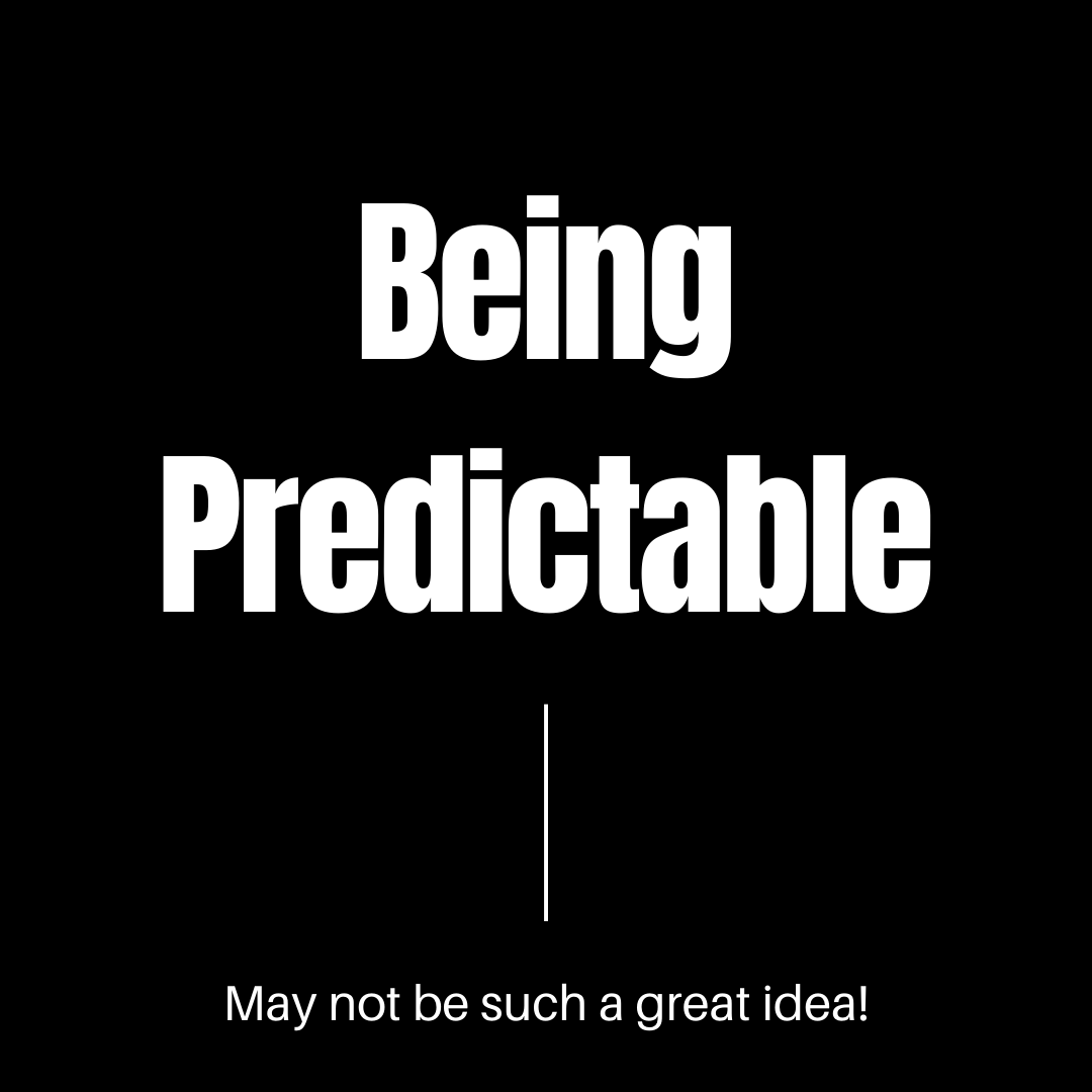 Predictability and emotions.